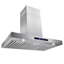 36  Stainless Steel Wall Mount Powerful Range Hood Kitchen Stove Vents