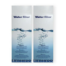 2 x Liebherr 7440000 7440002 ORIGINAL Water Filter for American Fridge Freezer