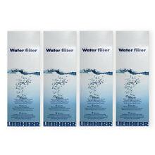 4 x Liebherr 7440000 7440002 ORIGINAL Water Filter for American Fridge Freezer