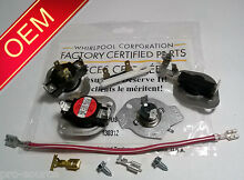 OEM PART 3977767 3392519 3387134 3399848 3977393 WHIRLPOOL DRYER THERMOSTAT KIT