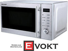 Sharp R 20STW Compact Microwave Oven Stainless Steel 800W 20L Genuine NEW