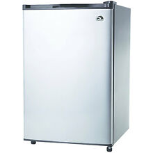 Igloo FR465I 4 6 CU Ft Compact Fridge Stainless Steel