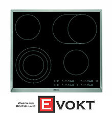 AEG HK654070XB Built In Glass Ceramic Hob 4 Cooking Zones  Black Cooktop Genuine