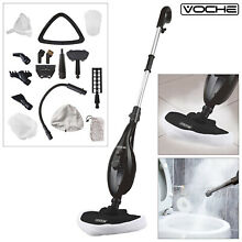 VOCHE 16 in 1 1300W HOT STEAM CLEANER HANDHELD STEAMER FLOOR MOP   CARPET WASHER