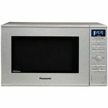 Panasonic NN SD681S Stainless 1200W 1 2 Cu  Ft  Countertop Built in Microwave