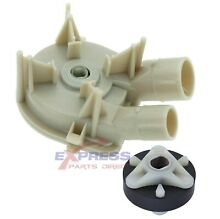 3363394 285753A  Washer Drain Pump and Motor Coupler Set   WP3363394  285753A