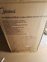Midea MAE50 S1102GPS 1 6 Cu  Ft  Top Loading Portable Washing Machine White