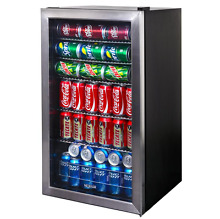 Can Cooler Soda Pop Beer Beverage Center Refrigerator Kitchen Bedroom Garage Bar