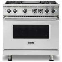 Viking 7 Series 36  Dual Fuel Range   FREE Dishwasher   VDR7364GSS