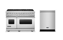 Viking 48  Dual Fuel Range   FREE Dishwasher VDR7488BSS