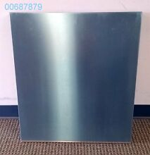New Bosch Stainless Steel Outer Door Panel for Dishwasher  00687879