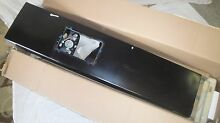 New GE Refrigerator Freezer Door WR78X12663 Black   PICK UP ONLY in Northeast PA
