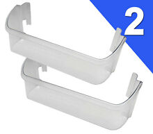 2 PACK  Frigidaire Kenmore Sears Refrigerator CLEAR Door Bin  Check Model List
