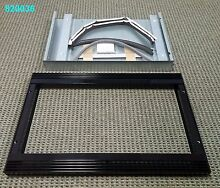 New Wolf E Series 27 Inch Black Glass Trim Kit for MS24 MW24 Microwaves   820036