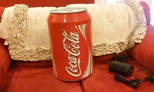 COOLER COCA COLA FRIDGE RED CAN AC DC COLLECTABLE