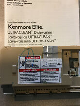 Kenmore Elite ULTRACLEAN Dishwasher Control Panel