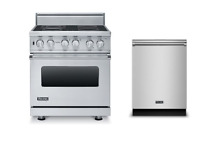 Viking 30  Freestanding Electric Range   FREE Dishwasher  VER5304BSS