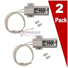 2 Pack  WB2X9998 Gas Range Oven Igniter for GE  Hotpoint  AP2634719  PS243820