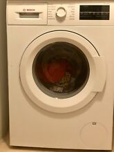 Bosch WAT28400UC 300 2 2 Cu  Ft  White Stackable Front Load Washer   Energy Star