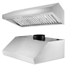 ThorKitchen 36 Inch Stainless Steel Cabinet Range Hood vents ultra quiet motor