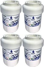 4 pack GE MWF SmartWater Compatible GE Water Filters for Refrigerator   G  New