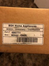 BOSCH THERMADOR Range or Cooktop  Power Module  Spark Module 486771  00486771