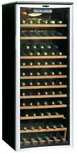 Danby Designer 75 Bottle 24  Freestanding Wine Cooler DWC612BLP  WITH BONUS