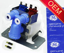 OEM Genuine GE Kenmore Refrigerator Dual Water Valve  Check Model Fit List