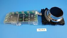 5304509039  5304505611 Electrolux Dryer User Control Board w Knob Assembly  A1 3