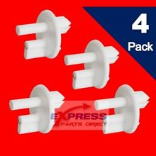4 Pack  241993001 Refrigerator Support Cover Crisper AP4393090  PS2358879
