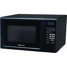 Magic Chef 1 1 Cu  Ft  1000 Watt Microwave Oven in Black   MCM1110B