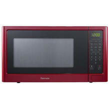 Countertop Microwave Oven Large by Kenmore 1 1 cu ft   Red 1100W