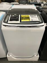 Samsung 5 4 cu ft High Efficiency Top Load Steam Washer Active wash  WA54M8750AW