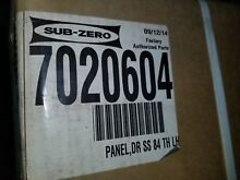 Sub Zero 7020604 84  Finished Height Door Panel Tubular Handle
