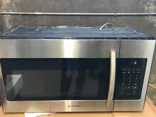 Samsung ME16H702SES 1 6 cu  ft  Over the Range Microwave Oven