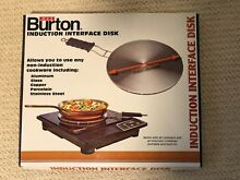 Max Burton 6010 8 Inch INDUCTION INTERFACE Disk with Heat Proof Handle