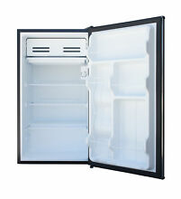 3 3 Cu Ft 1 Door Refrigerator Mini Fridge Freezer Personal Dorm Stainless Steel