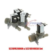 5221ER1003A   5220FR2006H Cold and Hot Side Washer Water Valve Set 5220FR2075L