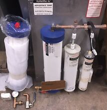 SYSTEMS IV 4  SCP30 ICE MAKER WATER FILTER TREATMENT COMPLETE SYSTEM THF351