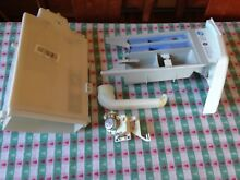 Parts from disassembled 2009 GE Washing Machine WCVH6800J1WW  Soap Drawer