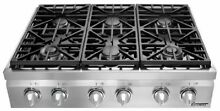 Dacor Distinctive DRT366SNG 36 Inch Pro Style Gas Rangetop