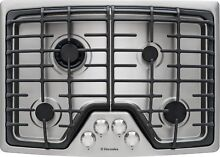 Electrolux 30  Min 2 Max Burner Stainless Steel Gas Cooktop EW30GC55PS