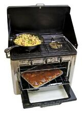 Outdoor Kitchen Camp Cooking Gear Gas Oven Propane Stove For Camping 2 Burner