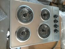 Frigidaire 30  Electric Cooktop Stainless Steel FFEC3005LS