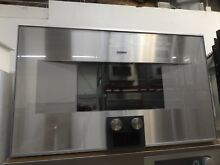 Gaggenau 30  SS Built In Microwave Oven Model BM450710