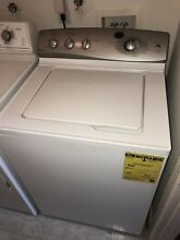GE Profile Washer In White Silver  Great Condition