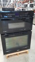 Whirlpool 30  New Black Combo Oven and Microwave Model  WOC95EC0AB00