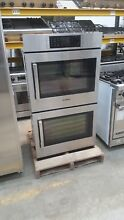 Bosch 30  SS Double Wall Oven Model  HBLP651RUC 04