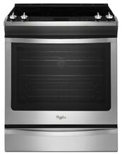 Whirlpool Slide In Electric Range With Convection  Control panel does not work