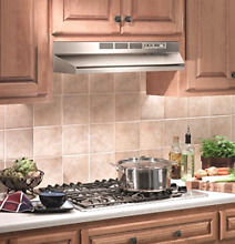 Broan 413004 ADA Capable Non Ducted Under Cabinet Range Hood  30 Inch Stainless